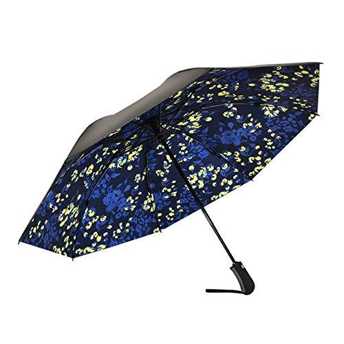 ADSIKOOJF Omgekeerde paraplu winddichte compacte paraplu binnen omgekeerde paraplu automatisch open en dicht regen paraplu voor vrouw & man China een luifel