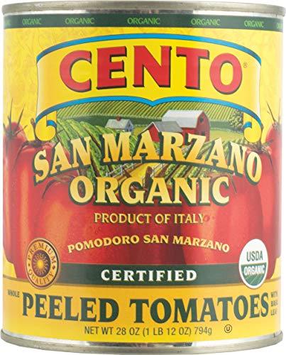 Cento San Marzano Organic Peeled Tomatoes (Pack of 6)