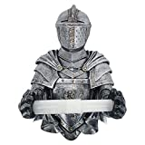Dheera Knight Paper Holder, A Knight Gothic Bath Tissue Holder Bathroom Toilet Paper Holder Knight Paper Holder, Gothic Bath Tissue Holder Bathroom Toilet Paper Holder