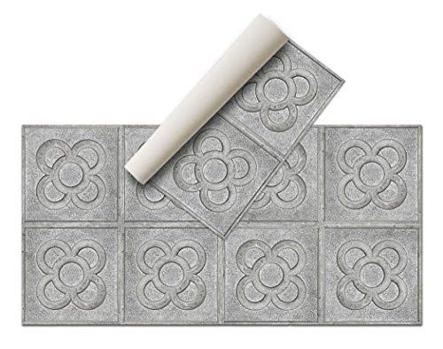 Alfombra Vinílica - (Acera, 80 x 40 cm) - Distintos diseños y tamaños - Opción personalizable - Alfombra Cocina, baño, salón comedor - Antideslizante - Alfombra dormitorio - Goma esponjosa y suelo PVC