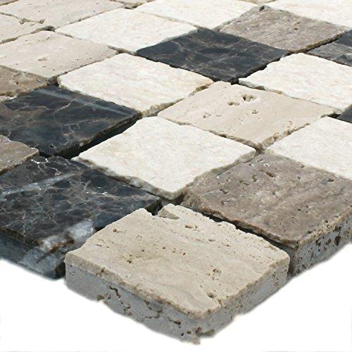 Mosaikmatte Format: 28,6 x 29,5 cm