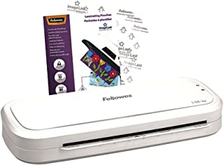 Fellowes L125 A4 Home Laminator, 80-125 Micron, Including 10 Free Pouches
