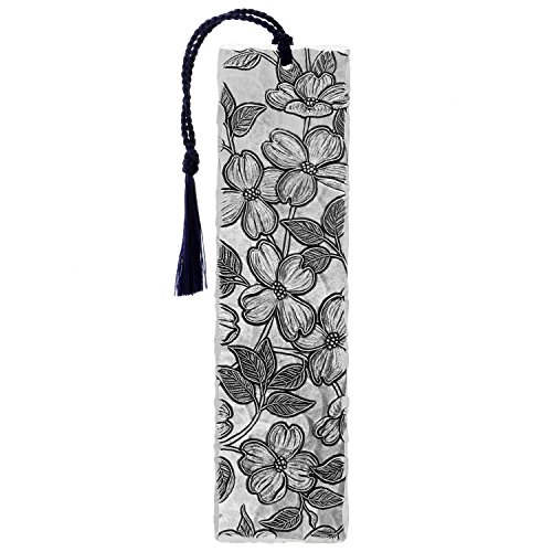 Wendell August Metal Dogwood Bookmark, Aluminum, 6.5 Inches Tall, Perfect for Flower Lovers, Gardeners, Made in The USA