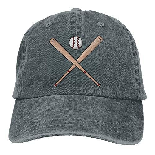 HGHGH Baseball Bat Cartoon Unisex Sombrero de Vaquero Gorras de béisbol Sombreros de Camionero Ajustables