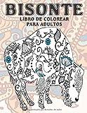 Bisonte - Libro de colorear para adultos