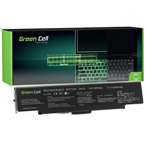 Celda verde Batería para portátil para Sony VAIO VGN-NR10E/S negro negro Standard - Green Cell Cells 4400 mAh