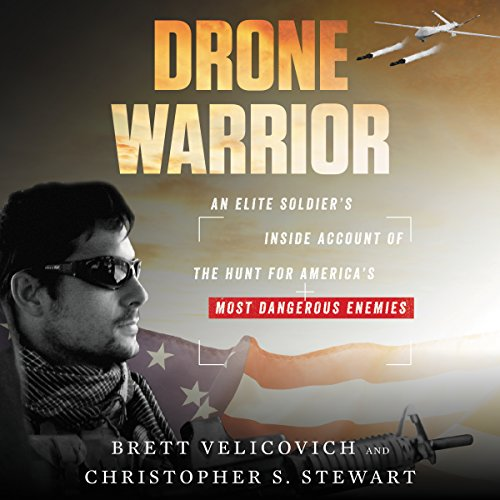 Drone Warrior audiobook cover art