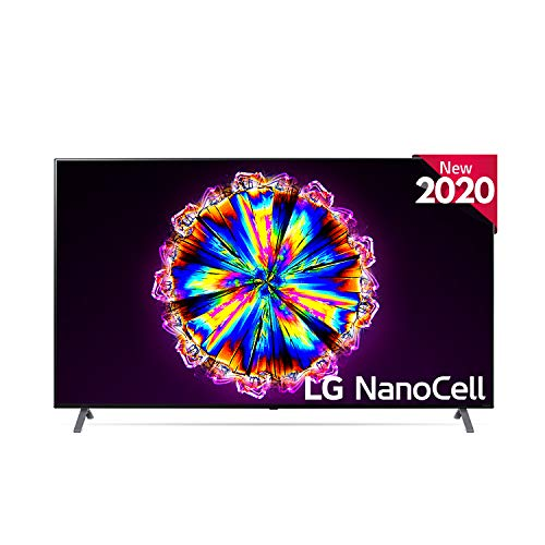 LG 75NANO906NA - Smart TV 4K NanoCell 189 cm (75') con Inteligencia Artificial, Procesador Inteligente α7 Gen3, Deep Learning, Full Array Dimming, 100% HDR, Dolby Vision/ATMOS, Compatible con Alexa
