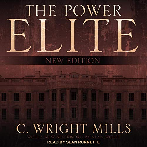 The Power Elite audiobook cover art
