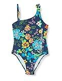 Pepe Jeans Flora Swimsuit Traje de baño, Multicolor (0AA), 11-12 años (Talla del Fabricante: 12) para Niñas