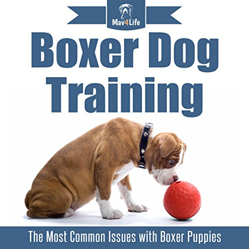 Boxer Dog Training audiobook cover art
