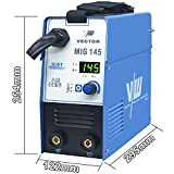 Schweißgerät VECTOR MIG145A Kombi Drahtschweissgerät MIG/MAG/WIG/MMA/Flux/FüllDraht Welder 1KG 230V