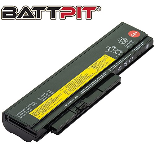 BattPit Laptop Battery for Lenovo 42T4940 0A36281 0A36282 0A36283 0A36305 0A36306 0A36307 ThinkPad X230 - High Performance [6-Cell/4400mAh/49Wh]