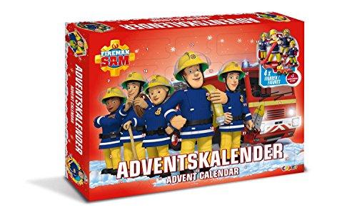 Craze 13861 - Feuerwehrmann Sam Adventskalender, mit Spielzeug und Figuren