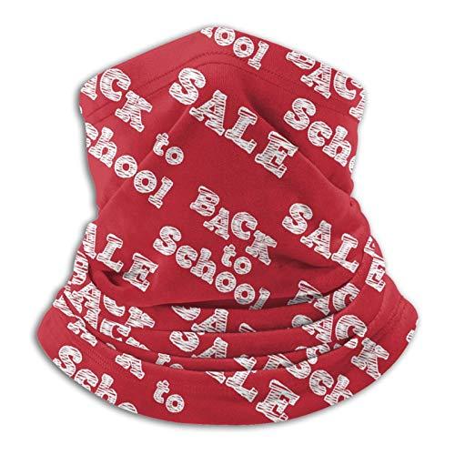 WangHQ Back To School Unisex Polainas de cuello Headwear Escudo de la cara Protección del Sol Escudo Mágico Bufanda Multifuncional Pasamontañas Sombrero