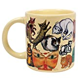 Artistic Cat Mug - Famous Artist Depictions of Kittens in History - Comes in a Fun Gift Box