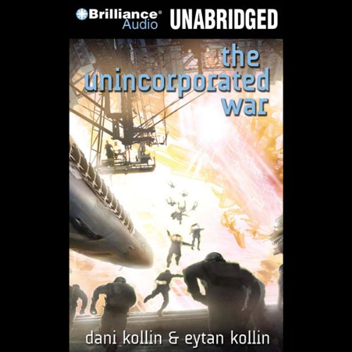 The Unincorporated War audiobook cover art