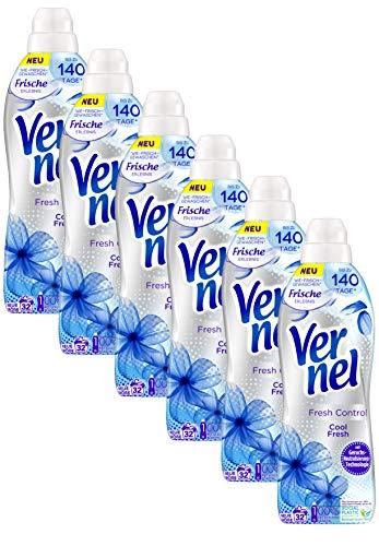 Vernel Fresh Control Cool Fresh, Weichspüler für einen langanhaltenden Duft und traumhaft weiche Wäsche (192(6x32) Waschladungen)