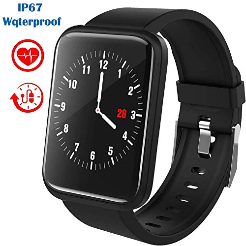 Fitness Trackers IP67 Waterdicht Met Heart Rate Bloeddrukmeter Stappenteller Sleep Monitor Activity Trackers Touch Screen Compatibel Met De Iphone Android