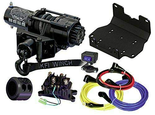 Check Out This 2500 lb KFI Stealth Winch Combo Kit Yamaha Grizzly and Kodiak 700 2016 New
