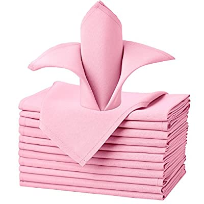 pink cloth napkins