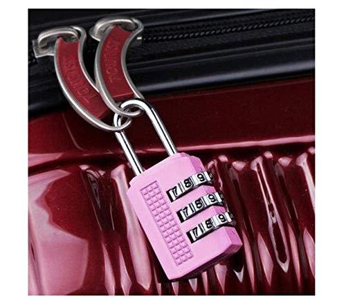 Household Padlock Zinc Alloy Combination Lock Storage Box Anti-theft Lock Portable Schoolbag Lock