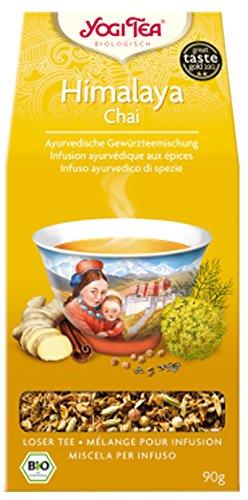 Yogi Himalaya Chai BIO 4 Packungen à 90 g, loser Tee