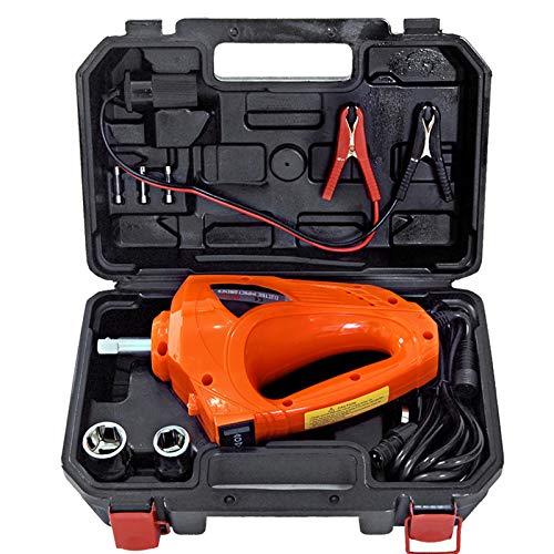 E-HEELP Elektrischer Wagenheber Elektrischer Schlagschrauber mit Aufbewahrungsbox Hebezeug Reifenwechsel Reparatur Notwerkzeugsatz