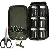 G8DS® Angel-Set: G8DS® Tasche mit 6 Glug + 6tlg G8DS® Werkzeug-Set mit Knotenzieher u.v.m. Karpfenangeln Ausrüstung Angeln Schiff Meer