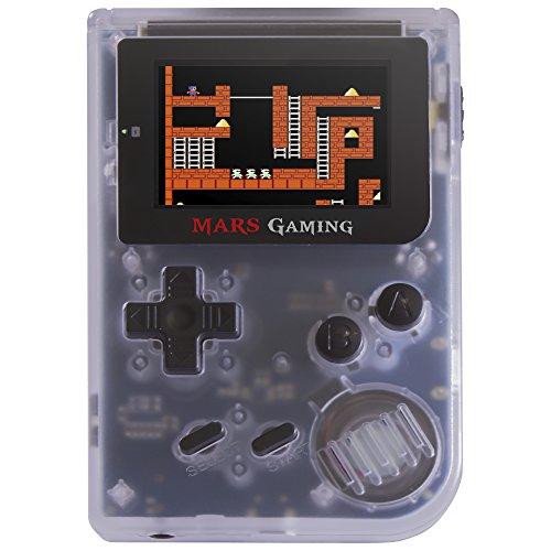 Mars Gaming MRB, Consola Retro, 151 Juegos Instalados, Micro SD, Blanca