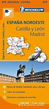 Castilla y Leon, Madrid - Michelin Regional Map 575 (Michelin Regional Maps) by NA(2013-03-25)