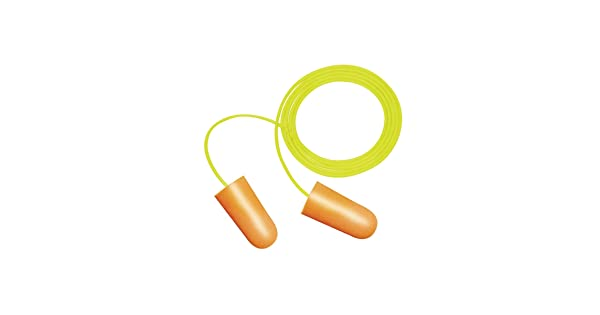 Colors Corded ERB Safety 14374 Peltor Nitro Ear Plugs Assorted Foam One Size 00