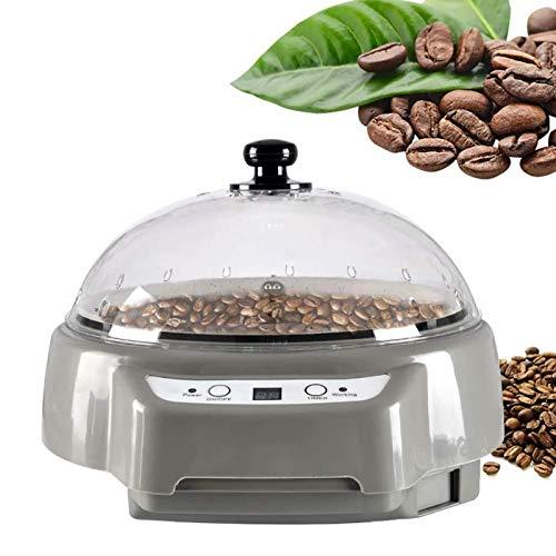 Kleine Kaffeeröstmaschine, Multifunktion Haushalt Backmaschine Mit Timing, Elektrisch Getrockneter Obsttrockner, Geeignet Für Kaffee, Melonensamen, Rohe Bohnen, Erdnüsse, Getreidebacken,Grau