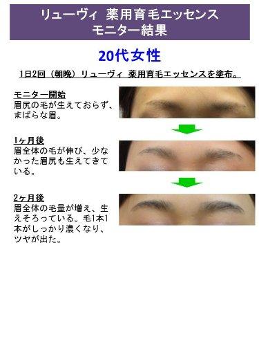 眉毛専門ブランドリューヴィ眉毛薬用育毛エッセンス医薬部外品