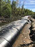 """Water Tube Flood Barrier - 20"""" Protective Height x 50' Long"""