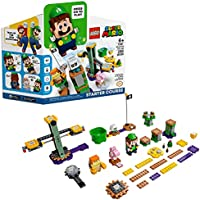LEGO Super Mario Adventures with Luigi Starter Course 71387 Building Kit; Collectible Toy Playset for Creative Kids; New...