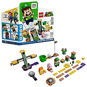 LEGO Super Mario Adventures with Luigi Starter Course 71387 Building Kit  Collectible Toy Playset for Creative Kids New 2021  280 Pieces