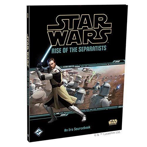 Star Wars FFG RPG: Rise of The Separatists - Sourcebook - English Edition