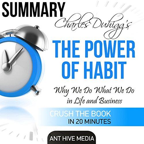 Charles Duhigg's The Power of Habit | Summary & Analysis audiobook cover art