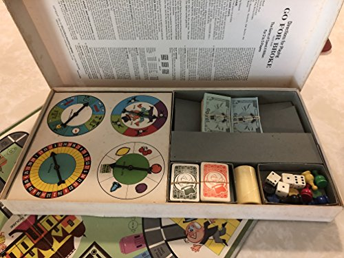 Go For Broke A Family Game By Selchow & Righter Copyright 1965