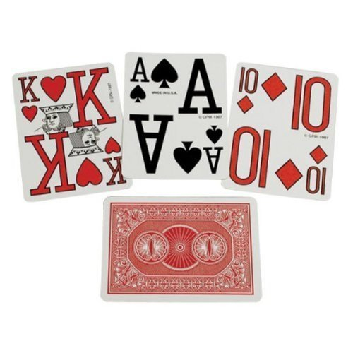 Marinoff Low Vision Playing Cards