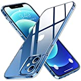 Humixx Compatible with iPhone 12 Case/iPhone 12 Pro Case [Upgraded 3.0 Military Grade Drop Test] [12X Anti-Yellowing] Clear Protective Hard PC Back and Soft TPU Bumper Cover for iPhone 12/12 Pro