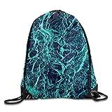 JHUIK Drawstring Bag Backpack,Mochila con cordón Impermeable Gym - Bolsas de Hombro Unisex