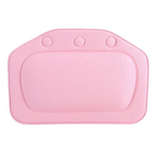 Dioche badkussen, zacht schuim gewatteerd badkussen van pvc, hoofdsteunen, hoofd, hals, achterkant, kussen, badkamer, accessoires voor hoofdgebruik