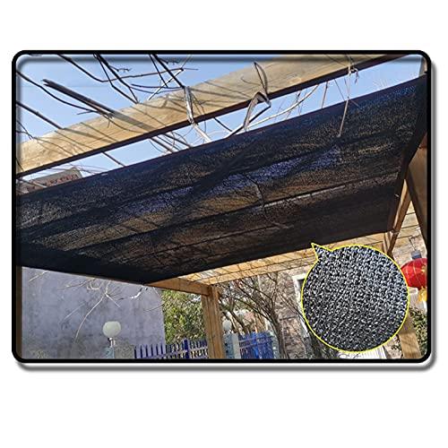 LYQCZ Lona De Sombra Toldos Red, 90% Tasa De Sombreado Malla con Ojales Viento Proteccion para Invernadero Jardín Flor Planta (Size : 3x6m/9.8x19.6ft)