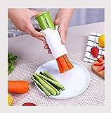 Edelstahl-Slicer Küchenreibe Gemüse Obst Möhre Gurke Grater Salat Küche Tools Gadget