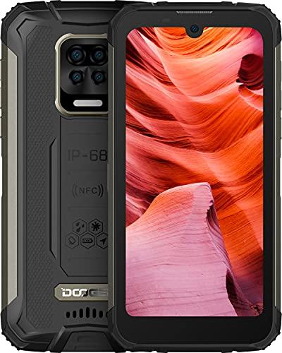 DOOGEE S59 Pro Rugged Smartphone 2021, 10050mAh Batteria, IP68 Cellulare Antiurto, 4GB + 128GB, 2W Powerful Speaker, 5,71 Pollici HD+, 16MP Quad Fotocamera, 4G Dual SIM Android 10 Cellulari Offerte
