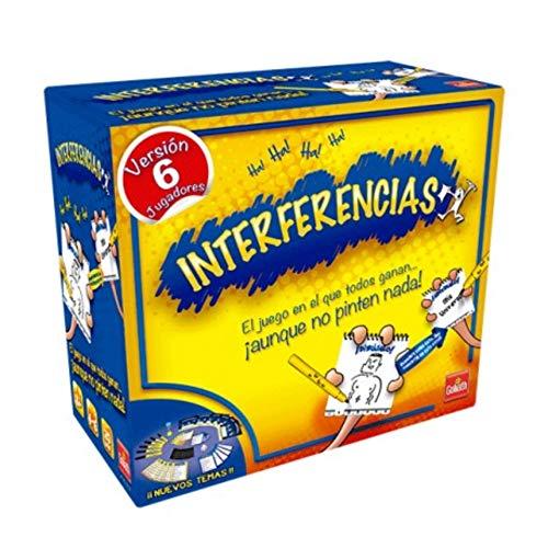 BricoLoco. Divertido juego de mesa INTERFERENCIAS. Juego de mesa para niños y adultos,ideal para fiestas y reuniones familiares.