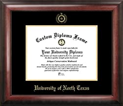 Campus Images TX952GED University of North Texas Embossed Diploma Frame, 11