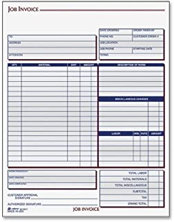 Adams Contractor Form - 100 Sheet(s) - 2 Part - Carbonless - 8.5